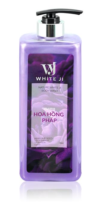 WHITE JI Hương Hoa Hồng Pháp 400ml