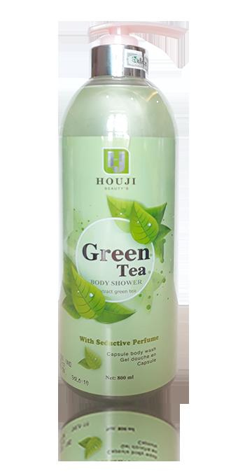 Sữa tắm trắng da Green Tea HouJi